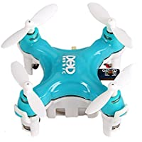 Smallest RC Quadcopter, Megadream3D Rollover Headless Mode DHD D1 Drone RTF Ready-To-Fly R/C Model Aircraft 6-Axis Gyro Helicopter with 2.4GHz Wireless Remote Control for Children Indoor Flying Blue