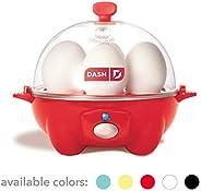 Dash Rapid Egg Cooker: 6 Egg Capacity Electric Egg Cooker for Hard Boiled Eggs, Poached Eggs, Scrambled Eggs, or Omelets wit
