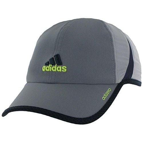 adidas Men's Adizero II Cap, One Size, Grey/Clear Onyx/Midnight/Frozen (Midnight Onyx)