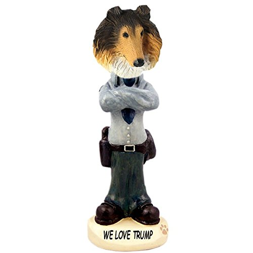 Sable Collie Police Officer Doogie Collectible Figurine (Sable Collie Figurine)