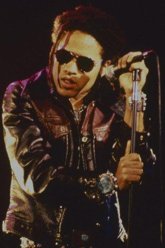 Lenny Kravitz cool concert pic sunglasses and leather jacket 24x36 - Pics Cool Sunglasses