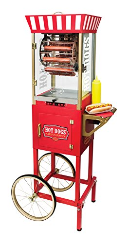 (Nostalgia HDF510 Hot Dog Ferris Wheel Cart)