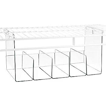 Amazon Com Interdesign Wire Shelving Organizer Under Shelf Bin