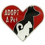 PinMart's Adopt a Pet Animal Enamel Lapel Pin