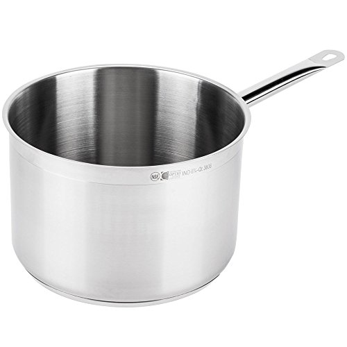 Vollrath 3806 Optio 6.75 Qt. Sauce Pan with Cover