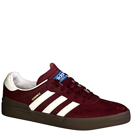 adidas Busenitz Vulc RX (Collegiate Burgundy/White/Gum) Men's Skate Shoes-11