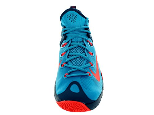Nike Zoom Hyperrev 2015 Zapatillas de baloncesto, Hombre Blue Lagoon/Brght Crmsh/Bl Frc