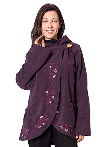Coton Du Monde - Abrigo - para mujer Multicolor