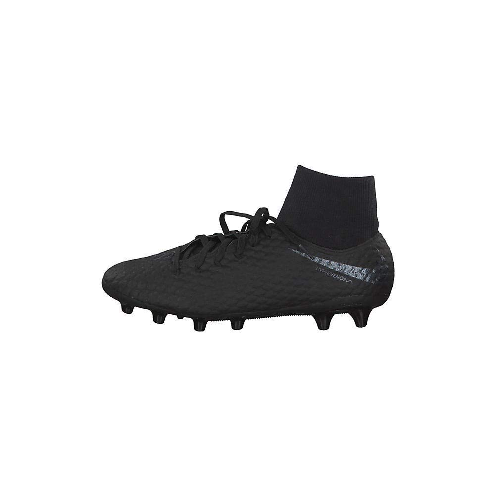 Noir (noir noir 001) Nike Hypervenom 3 Academy DF AG-Pro, Chaussures de Fitness Mixte Adulte 47 EU