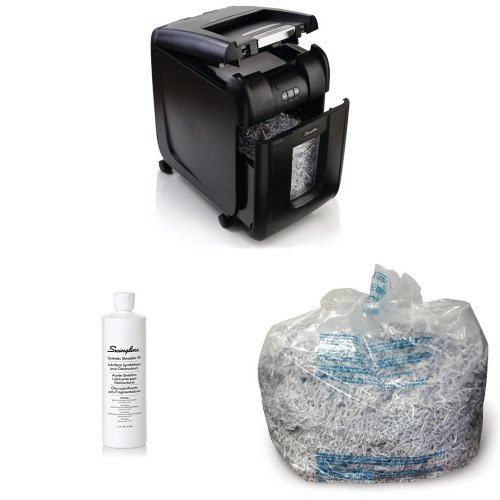 Bundle: Shredder, Oil, and Bags by Swingline
