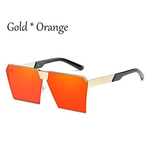 De Damas Enormes Hombre Sol Estilos Sol Silver G Gafas C9 C2 Silver Gold TIANLIANG04 Red Gafas Unas Cuadradas Mujer Vintage Uv356 Tonos De 17 X6wx5vIq5z