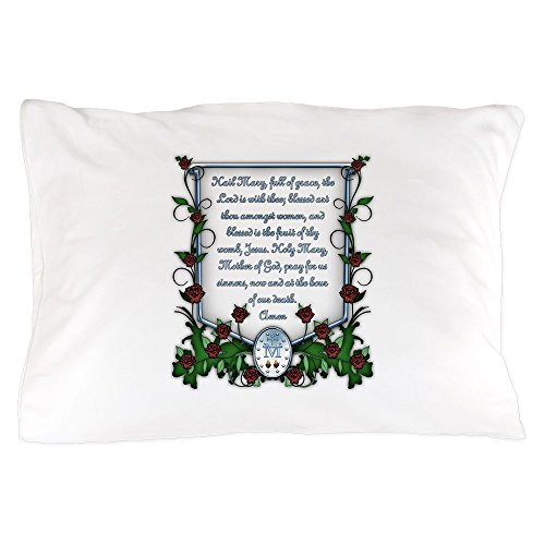 CafePress - Hail Mary - Standard Size Pillow Case, 20''x30'' Pillow Cover, Unique Pillow Slip by CafePress