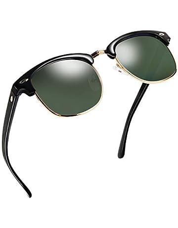 NWOUIIAY Sunglasses UV 400 Lens Protection half frame sunglasses men and  women e08940cbf6
