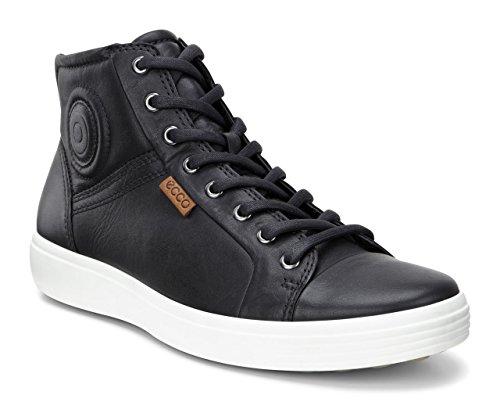 Sneaker Black 1001 a Collo Nero Uomo ECCO Soft Alto 7 UqwZFfO
