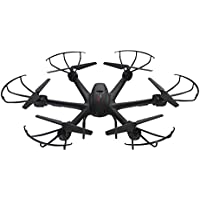 Tech RC MJX X600 2.4GHz 4Ch 6 Axis Gyro RC Drone Quadcopter with Headless Mode and Auto-Return Helicopter (Without Camera)