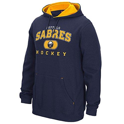 Reebok Nhl Playbook Hoody - Buffalo Sabres Reebok NHL Men's Playbook Hooded Sweatshirt