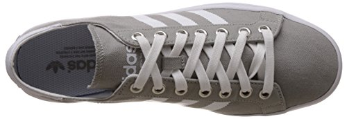 adidas Herren Courtvantage Basketballschuhe Mehrfarbig (Mgsogr/Ftwwht/Metsil)