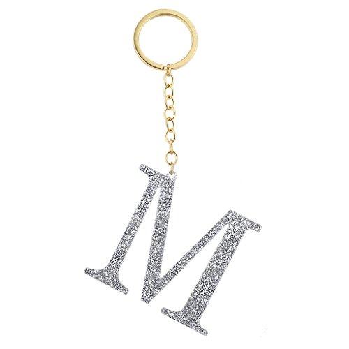 Initials Keychain - 3