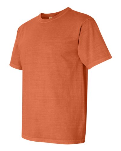 (Comfort Colors Pigment-Dyed Short Sleeve Shirt 3X Burnt Orange)