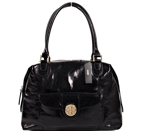 Bag Polish Handag Calf DKNY Turnlock Satchel Logo XqwwBA5