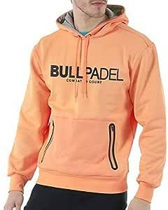 Bull padel Sudadera BULLPADEL ORTEX Naranja Fluor (XL): Amazon.es ...