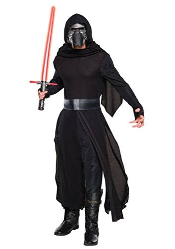 Samurai Deluxe Costumes (Star Wars: The Force Awakens Deluxe Adult Kylo Ren Costume,Multi,Standard)