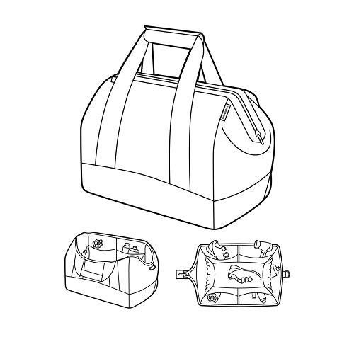 Reisenthel allrounder L Sporttasche, schwarz Polyester 48x29x39.5cm Mehrfarbig
