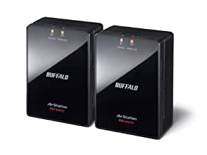 BUFFALO network-enabled consumer electronics for wireless unit starter pack set of 2 WLAE-AG300N/V2