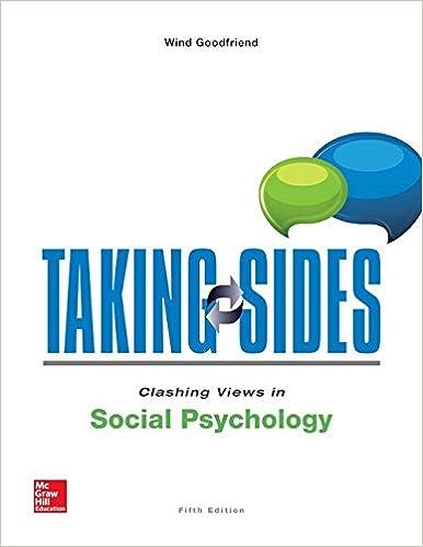 Taking Sides Clashing Views In Social