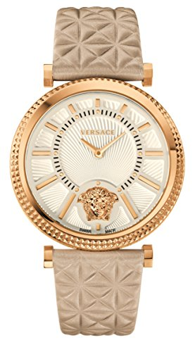 Versace Women's VQG030015 V-HELIX Analog Display Quartz White Watch