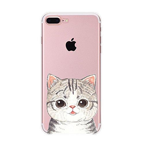 Vanki® Funda iPhone 7 Plus, Carcasa Serie volar Sakura iPhone 7 Plus Case Cover Silicona Suave Funda para Apple iPhone 7 Plus 5.5 inch 7