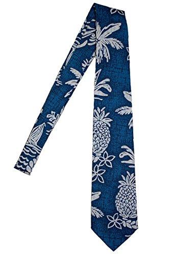 Hawaii Neckties, Pinapple Green