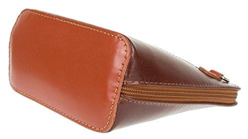 para Girly mujer Bolso Handbags Piel de marrón cruzados qF6BXwF7xS