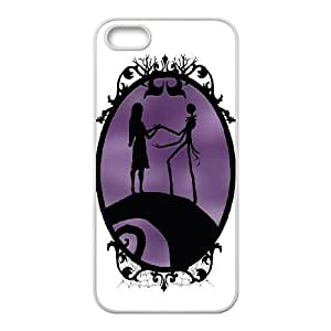 Nightmare Before Christmas iPhone 5 5s Cell Phone Case White xlb-323220