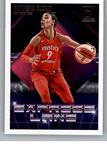 2019 Donruss WNBA Express Lane #4 Natasha Cloud Washington Mystics Official Panini Basketball Card - <strong>Donruss</strong>