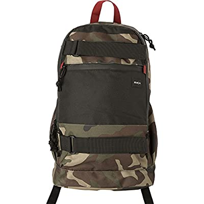 RVCA Push Skate Deluxe Laptop Backpack School Bag Camo Black hot sale 2017