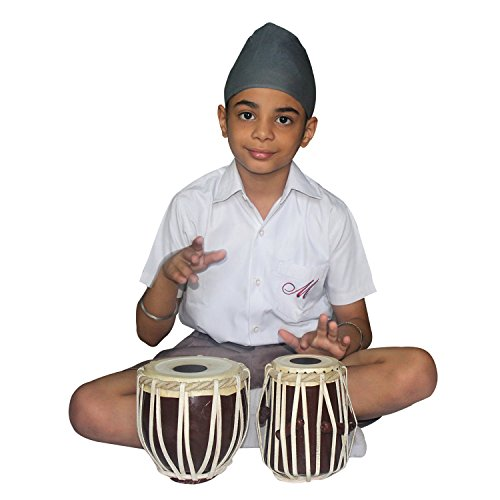"Tabla Set 7"" Handmade for Upto 8 Year Kids 