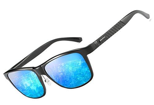Panda Mirrored A sol de hombre Gafas Blue para Hat 4HT7pqR7