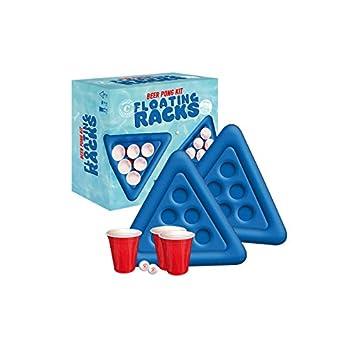 Kit de Beer pong inflable para piscina: Amazon.es: Juguetes y juegos