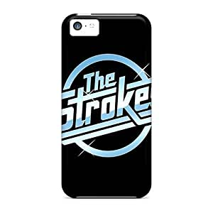 Awesome LastMemory Defender Tpu Hard Case Cover For Iphone 5c- The Strokes