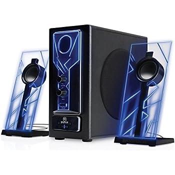 Amazon.com: GOgroove BassPULSE 2.1 Computer Speakers with
