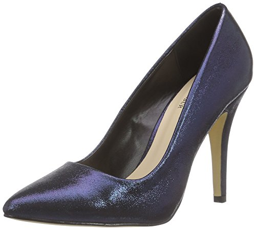 Paco Mena Acebo Damen Pumps Blau (Midnight Blue)