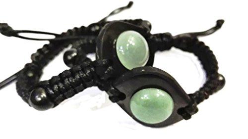 Keled_R® Shamballa wrap Bracelet Shungite Stone & Aventurine - Shamballa Wrap Bracelet