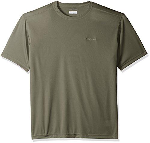 Columbia Men's Meeker Peak Short-Sleeve Crew T-Shirt, Cypress, Medium