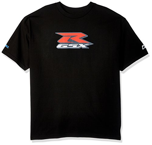 Factory Effex 15-88484  Suzuki 'GSXR' T-Shirt (Black, X-Large) (Suzuki Apparel)