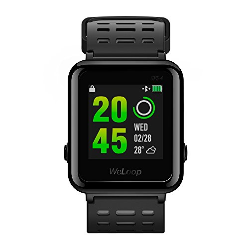 Amazon.com: Weloop hey 3s Sports Smartwatch,Fitness Tracker Waterproof Watch With Heart Rate Monitor [Activities Track] [Sleep Track] [Music Control] ...