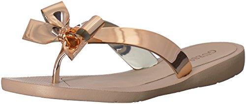 Gold women sandal