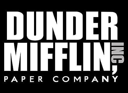 Dunder Mifflin Company Logo vinyl decal sticker The Office