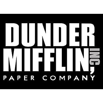 Amazon.com: American Vinyl Black Dunder Mifflin Paper ...