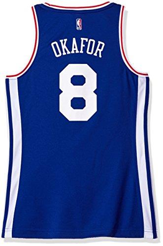 NBA Women's Philadelphia 76ers Okafor Replica Player Away Jersey, X-Large, Blue ()